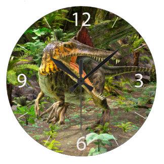 Dinosaur Spinosaurus Wall Clocks