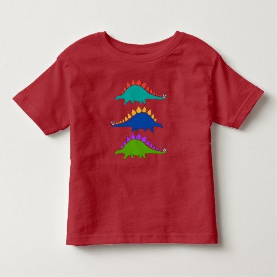 Dinosaur Stegosaurus Kids T-Shirt