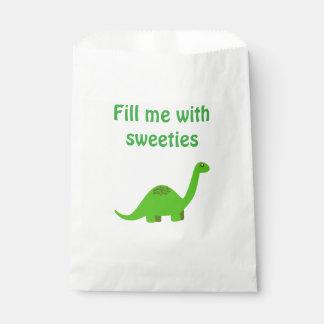 Dinosaur Sweet Party Favour Bag