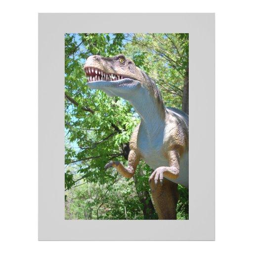 Dinosaur T-Rex Full Color Flyer