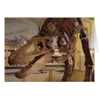 Dinosaur - T-Rex Greeting Card
