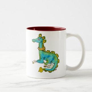 Dinosaur Two-Tone Mug