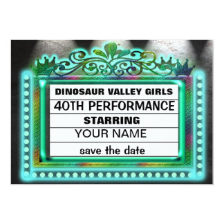 Dinosaur Valley Girls Card