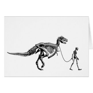 DINOSAUR WALK CARD