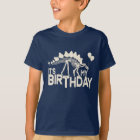 Dinosaur with Balloons Birthday T-Shirt