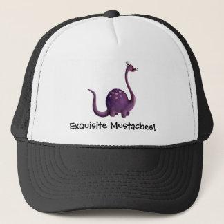 Dinosaur with Mustaches Trucker Hat