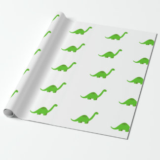 Dinosaur Wrapping Paper Birthday