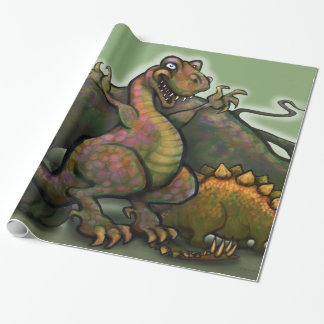 Dinosaurs 2x3' 60# Wall Posters Wrapping Paper