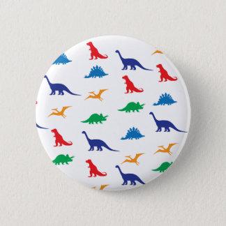 Dinosaurs 6 Cm Round Badge