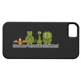 Dinosaurs Against Evolution Barely There iPhone 5 Case
