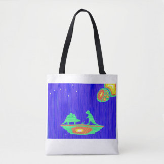 Dinosaurs and Mouse Tote Bag