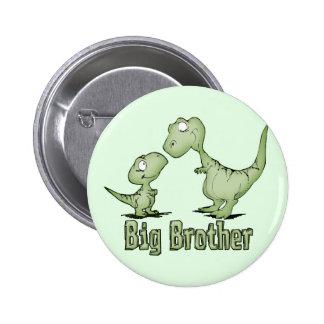 Dinosaurs Big Brother 6 Cm Round Badge