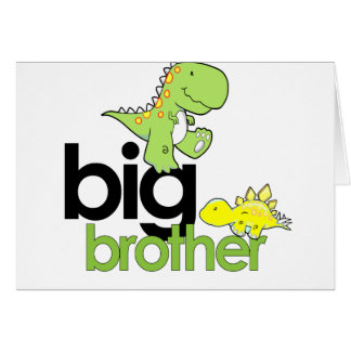 dinosaurs big brother card