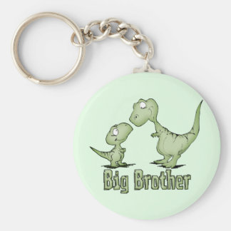 Dinosaurs Big Brother Keychain