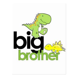 dinosaurs big brother postcard