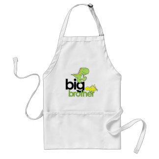 dinosaurs big brother standard apron