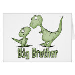 Dinosaurs Big Brother Stationery Note Card