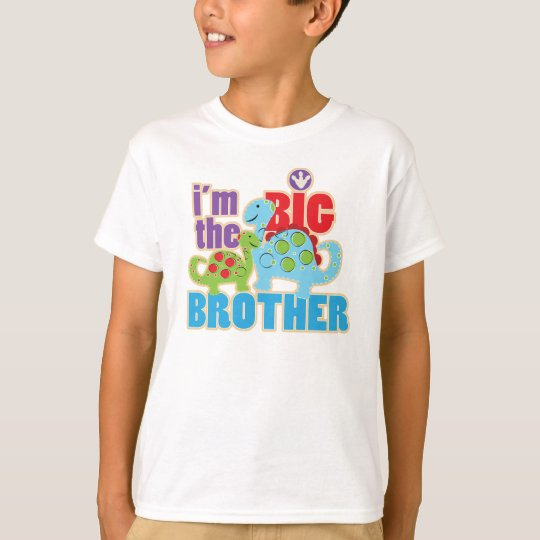 Dinosaurs Big brother tee shirt