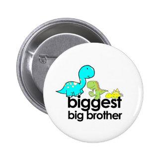dinosaurs biggest big brother 6 cm round badge