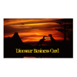 Dinosaurs Business Cards
