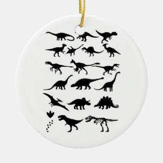 Dinosaurs Christmas Ornament