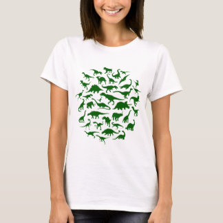 DINOSAURS (dark green) - Womens Tee
