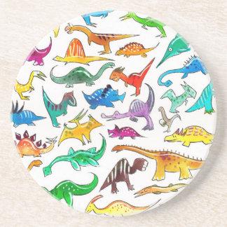 'Dinosaurs for beginners' Drinks Coaster