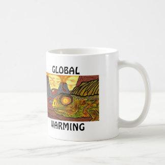 DINOSAURS GLOBAL WARMING HUMOROUS FUNNY MUGS
