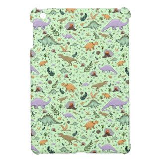Dinosaurs in Green iPad Mini Case