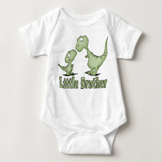 Dinosaurs Little Brother Baby Bodysuit