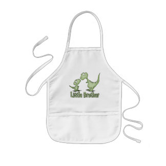 Dinosaurs Little Brother Kids' Apron