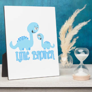 Dinosaurs Little Brother Display Plaque