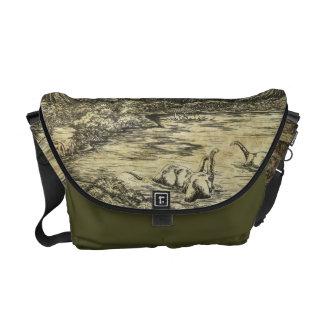 Dinosaurs Messenger Bags