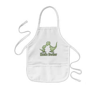 Dinosaurs Middle Brother Apron