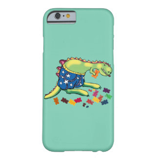 dinosaur's midnight snack barely there iPhone 6 case