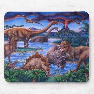 Dinosaurs mousepad