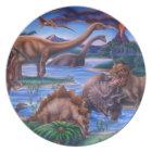 Dinosaurs Plate