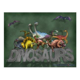 Dinosaurs Post Card
