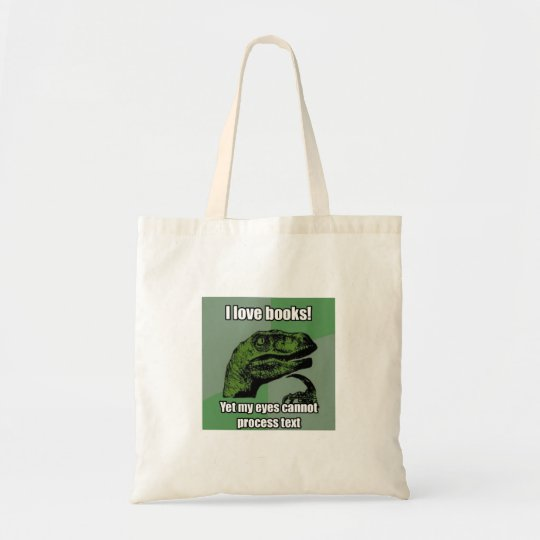 Dinosaurs Read Books Tote Bag