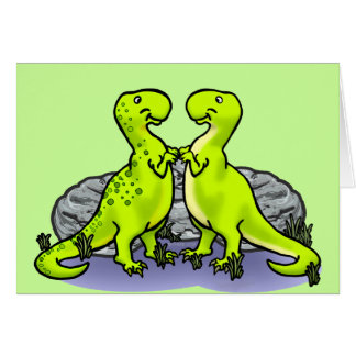 Dinosaurs Rock! Card