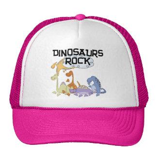 Dinosaurs Rock Tshirts and Gifts Mesh Hats