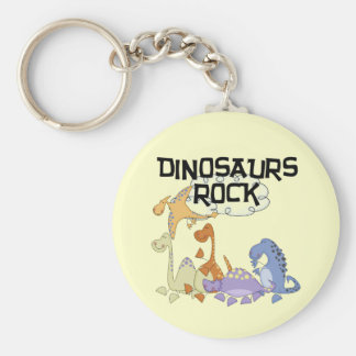 Dinosaurs Rock Tshirts and Gifts Keychains