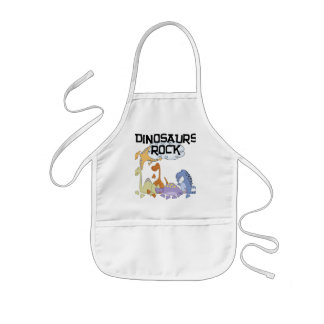 Dinosaurs Rock Tshirts and Gifts Kids Apron