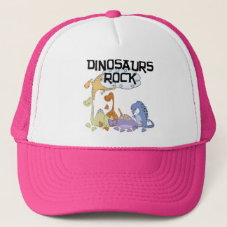 Dinosaurs Rock Tshirts and Gifts Trucker Hat