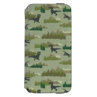 Dinosaurs Running Camo Pattern Incipio Watson™ iPhone 6 Wallet Case
