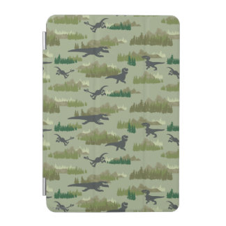 Dinosaurs Running Camo Pattern iPad Mini Cover