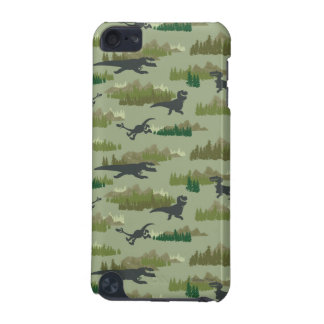 Dinosaurs Running Camo Pattern iPod Touch (5th Generation) Cover