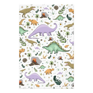 Dinosaurs! Stationery