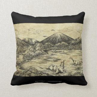 Dinosaurs Throw Cushion