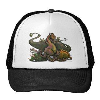 Dinosaurs Trucker Hats